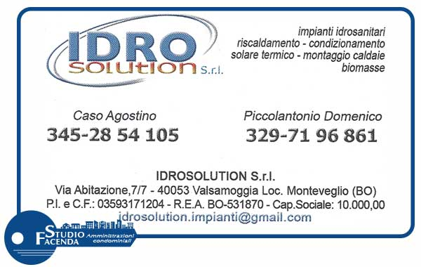 Idro Solution Studio Facenda Amministrazioni Condominiali